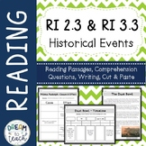 Informational Text - Historical Events RI 2.3 & RI 3.3 Cause & Effect, Timelines