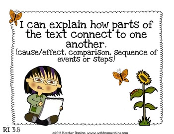 """Informational Text """"I Can"""" Statement Posters {Grade 3 CCSS Aligned}"""