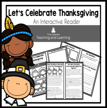 Thanksgiving Nonfiction Reader for Second and Third Grade