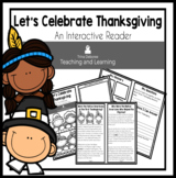 Thanksgiving Nonfiction Reader: Let's Celebrate Thanksgiving