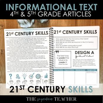 Informational Text Journal: 21ST CENTURY SKILLS