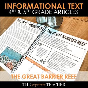 Informational Text Journal: GREAT BARRIER REEF