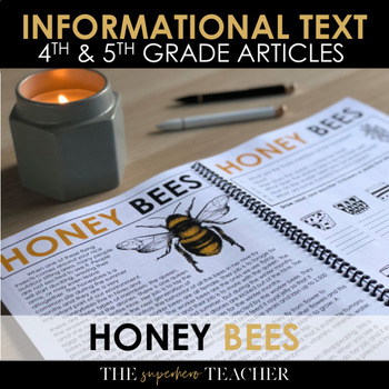 Informational Text Journal: HONEY BEES