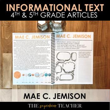 Informational Text Journal: MAE C. JEMISON