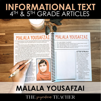 Informational Text Journal: MALALA YOUSAFZAI