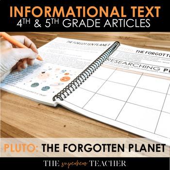 Informational Text Journal: PLUTO-THE FORGOTTEN PLANET