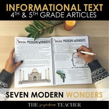 Informational Text Journal: SEVEN MODERN WONDERS
