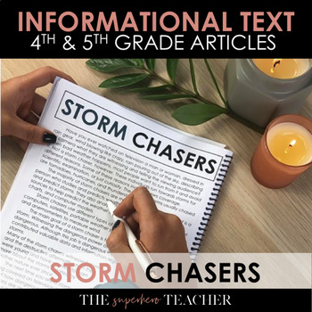 Informational Text Journal: STORM CHASERS