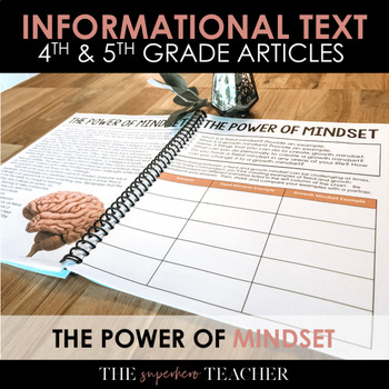 Informational Text Journal: THE POWER OF MINDSET