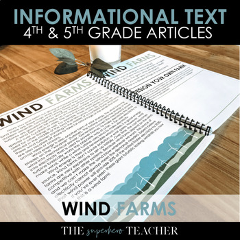 Informational Text Journal: WIND FARMS