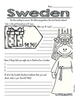 Informational Text: Joy to the World (Christmas Around The World)