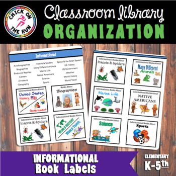 Informational Text Labels