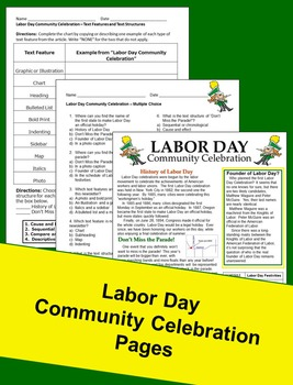 Informational Text - Labor Day