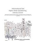 Informational Text Literacy Lesson