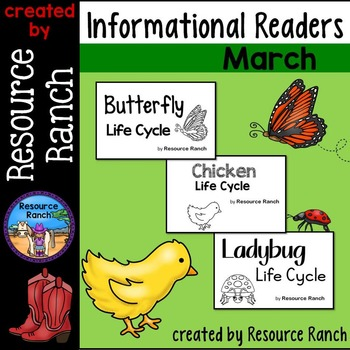 Life Cycles Guided Reading Bundle