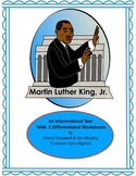 Informational Text: Martin Luther King Jr. {Common Core Aligned}