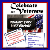 Informational Text - Memorial Day, Veterans Day
