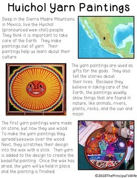 Informational Text: Mexican Yarn Painting