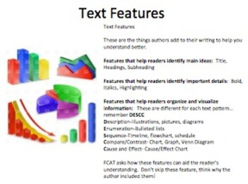 Informational Text Mini-lesson--Text Features, Validity, Analysis, and Synthesis