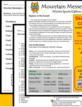 Informational Text - Mountain Messenger