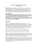 Informational Text Nine Week Unit Outline