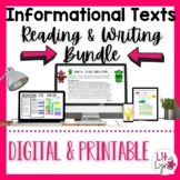 Informational Text | Nonfiction Reading & Writing Bundle |