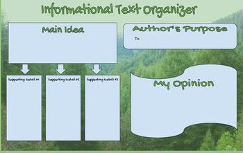 Informational Text Oragnizer