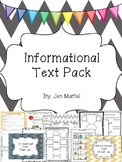 Informational Text Pack (Common Core aligned activities for reading and writing)