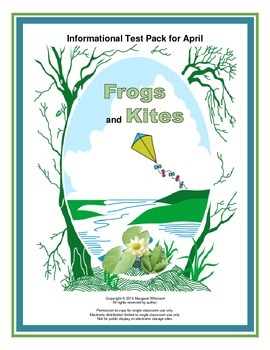 Informational Text  for April  Frogs and Kites