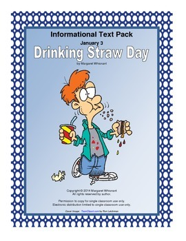 Informational Text for January  Drinking Straw Day