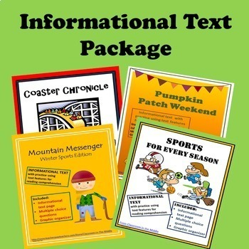 Informational Text - Package