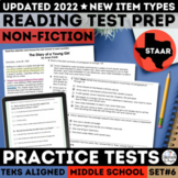 STAAR Reading Comprehension Passages and Multiple Choice Questions Set 6