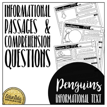 Informational Text: Penguins
