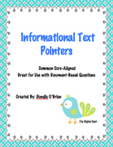 Informational Text Pointers