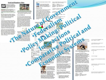 Info Reading Text - Economic and Political Philosophies Bundle Save $10(No Prep)