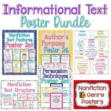 Informational Text Poster Bundle