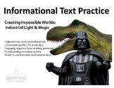 Informational Text Practice: Movie Magic