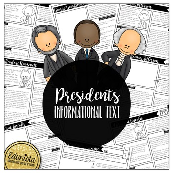 Informational Text: Presidents | Reading Comprehension Passages & Questions