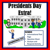 Informational Text - Presidents Day