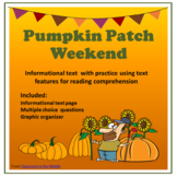 Informational Text - Pumpkin Patch Weekend