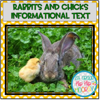 Research with Bunnies and Chicks...Informational Text, Activities, Crafts!