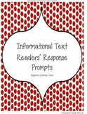 Informational Text Readers' Response Prompts: Level 2