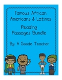 African Americans & Latinos Reading Comprehension Passages Bundle