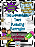 Informational Text Reading Passages