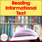 Informational Text - Reading Passages and Graphic Organizers