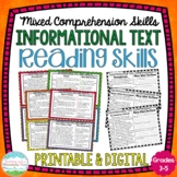 Reading Comprehension Passages   Distance Learning   Google Classroom