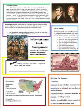 Informational Text; Reading Strategies; Sacajawea; Lewis and Clark; Inferencing