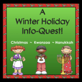 Informational Text: Reading & Writing for Winter Holidays