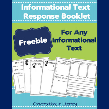 Informational Text Response Booklet-Free
