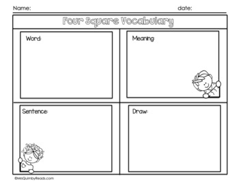 Informational Text Response | For Any Text | (Reading-Writing)